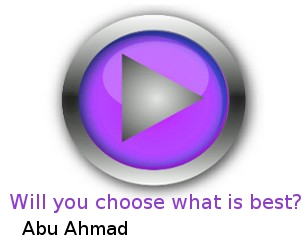 Will you choose what is best for you?